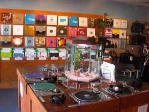 DJ Skills record store in Berkley, California