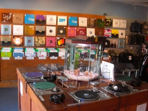 DJ Skills record store in Berkley, California
