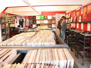 In House Records - record store in San Francisco, California.