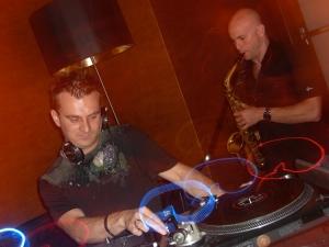 DJ Misha and Jason Whitmore
