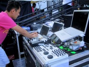 Beatport WMC 2010 - Working the visuals