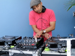 DJ Cris Herrera at W Hotel Beach Bar