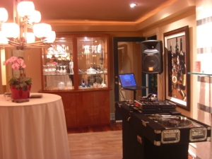 Mobil DJ Services at Private House Party