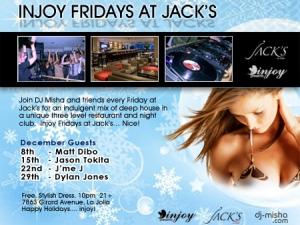 Injoy Fridays at Jack's