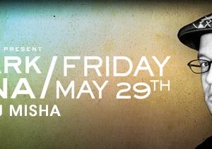 DJ Misha opening for Mark Farina at the Ivy