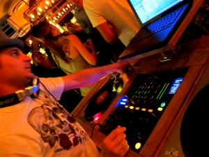 DJ Misha at Searsucker in San Diego