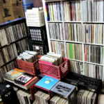 FeeliT - San Diego Store- back room record collection