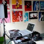 DJ Rob Sarin / DJ Booth/ 2010