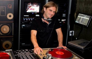 San Diego DJ at grand opening of Draft Republic